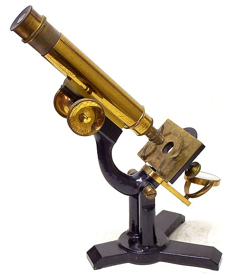 Queen & Co., Phila., # 2215. The Acme No. 5 Model Microscope. c. 1893