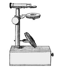RASPAIL SIMPLE MICROSCOPE