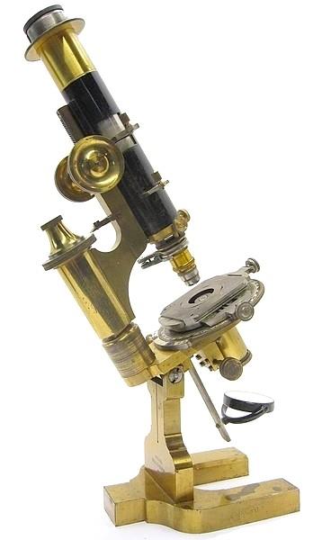 R. Fuess, Berlin - Steglitz, #1550. Model IIIa petrological microscope