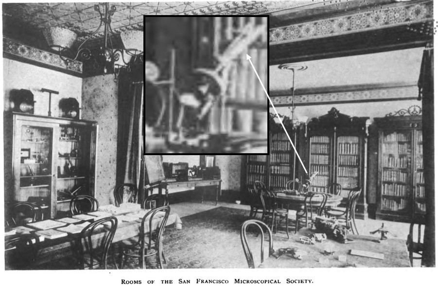 rooms of the San Francisco Microscopical Society 1893