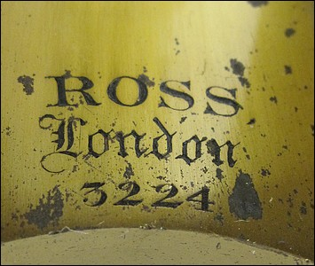 Monocular microscope: Ross, London, #3224