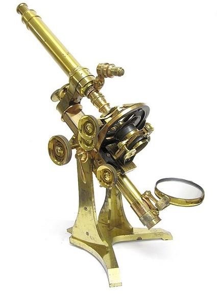 Ross London, 3750. First-Class No.1 monocular microscope, c. 1873