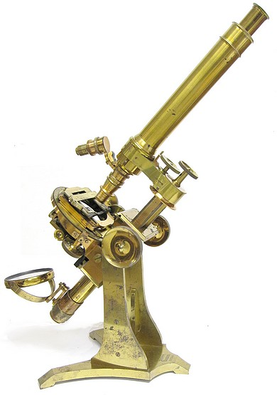ross london, 3750. first-class no.1 monocular microscope, c. 1873