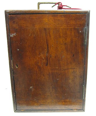 ross london, 3750. first-class no.1 monocular microscope, c. 1873. storage case