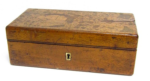 Schiek in Berlin, No. 137. Small drum microscope. c. 1842. Storage case. case