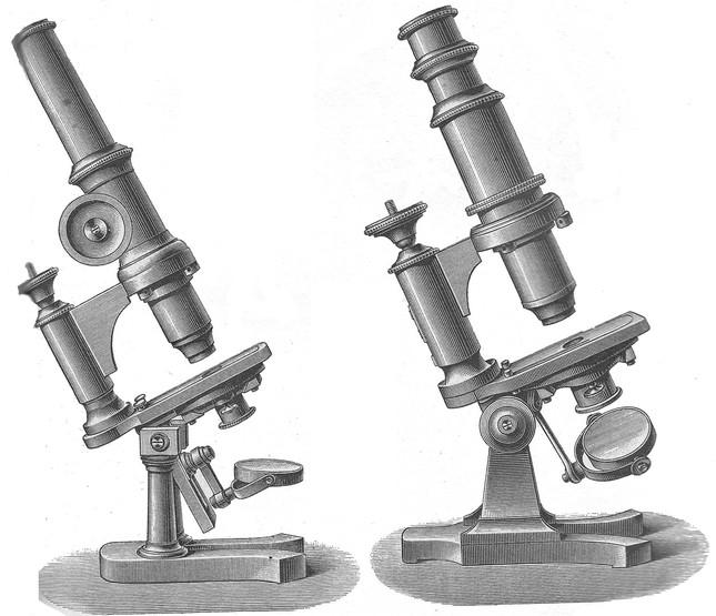 Franz Schmidt & Haensch, Berlin microscopes 1882