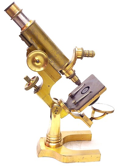 L. Schrauer, Maker, New York. Prize Microscope Awarded to Frederick Hills Cole, M.D., 1894