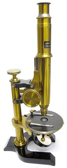 Seibert in Wetzlar. Polarizing (Mineral) Microscope, c. 1895
