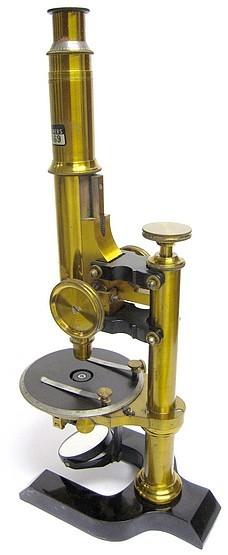 Seibert in Wetzlar. Polarizing(Mineral) Microscope, c. 1895