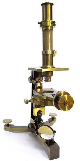 Société Genevoise pour la Construction d'Instruments de Physique, Geneve. Metrological microscope(measuring microscope), c. 1900