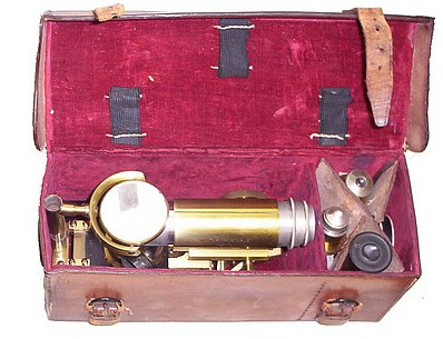 J. Swift &   Son, No. 438, Military Portable, agents Hughes Owens Co. in leather case