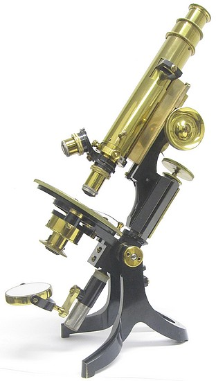 J. Swift & Son, London, #14790. The Advanced Student's Petrological Microscope, c. 1908