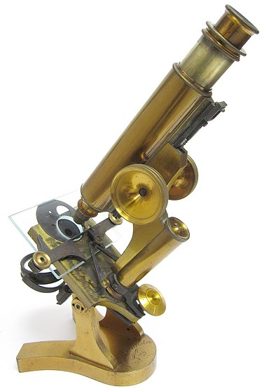T.H. McAllister, N. Y. The Physician's Model Microscope, c.1880