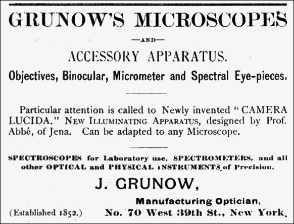 An Advertisement from the Laboratory Handbook