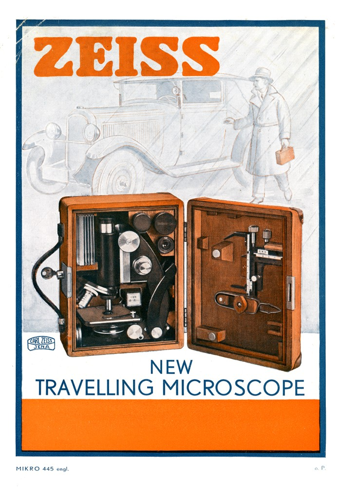 Ziess Trravelling Microscope