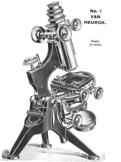 The Van Heurck No.1 model microscope