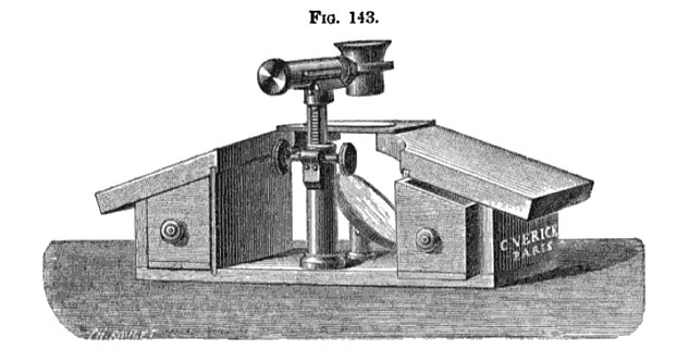 Verick dissecting microscope