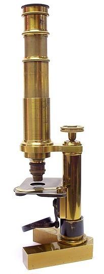 C. Verick, rue de la Parcheminerie, 2, Paris, No. 3036. Verick-Malassez Travelling or Pocket Microscope, c. 1880
