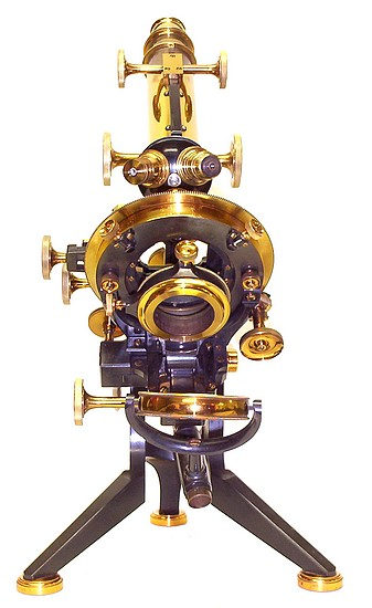 W. Watson & Sons Ltd., 313 High Holborn London #10844. The Van Heurck No.1 model microscope, c. 1910