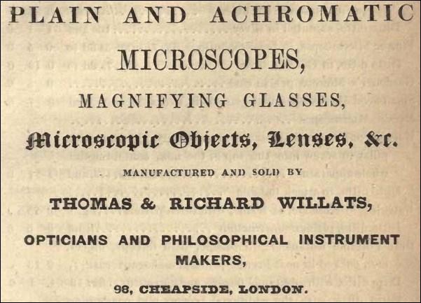 willats ad 1845