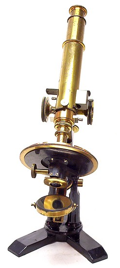 "Bausch & Lomb Optical Co. Serial number 4541, ""The Williams Petrological"" microscope, c.1888"