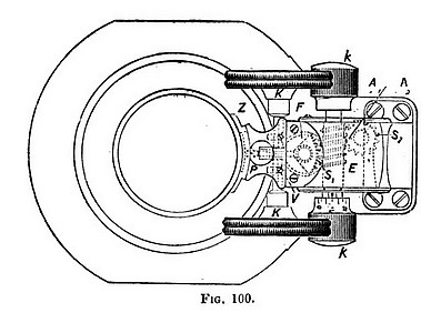 berger's fine adjustment mechanism for the ib model microscope