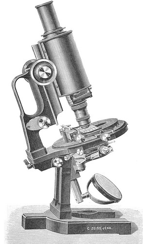 zeiss ib model microscope 1906