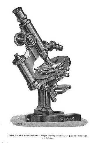 Carl Zeiss, Jena Continental microscope-Stand 1a
