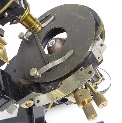 Carl Zeiss, Jena No. 32540. Microscope Ic for Photomicrography and Projection .micrographic mecanical stage