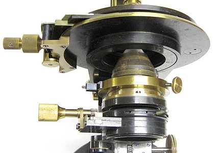 Carl Zeiss, Jena No. 32540. Microscope Ic for Photomicrography and Projection. Berger's New Model (Jug Handle). sub-stage