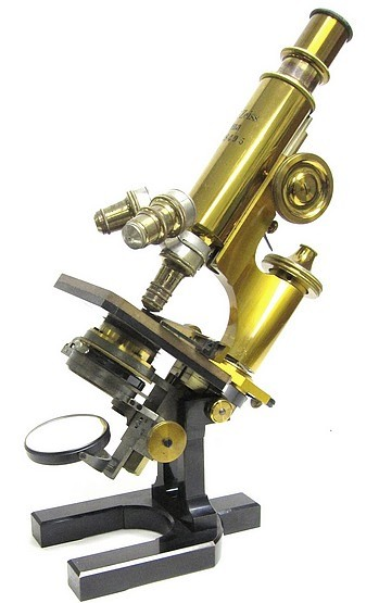 Carl Zeiss, Jena. No. 28495. The IVa continental model microscope. c. 1897