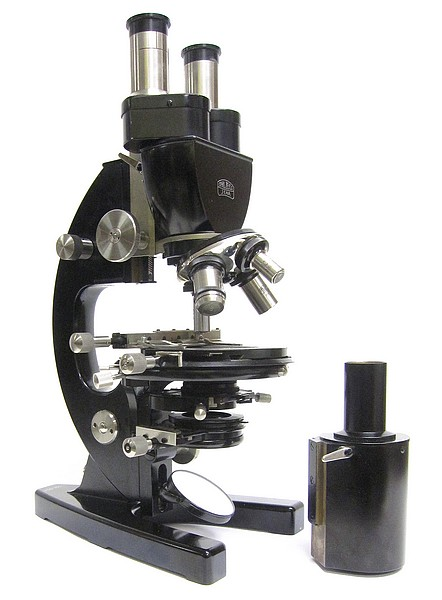 Carl Zeiss Jena, 221904. Model FZE. Large microscope with interchangeable tubes and centering slide condenser, c. 1929