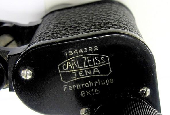 carl zeiss, jena, 1344392. monocular telescopic magnifier, c. 1924 (unkulare fernrohrlupe, 6x15)