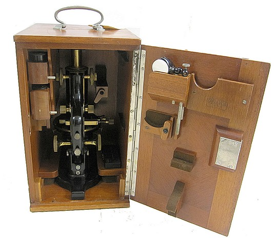 Carl Zeiss, Jena, No 76536. The IS Metallurgical Microscope