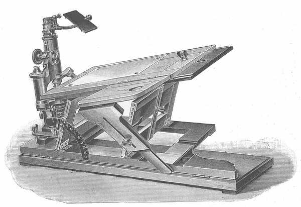Zeiss drawing table and camera lucida