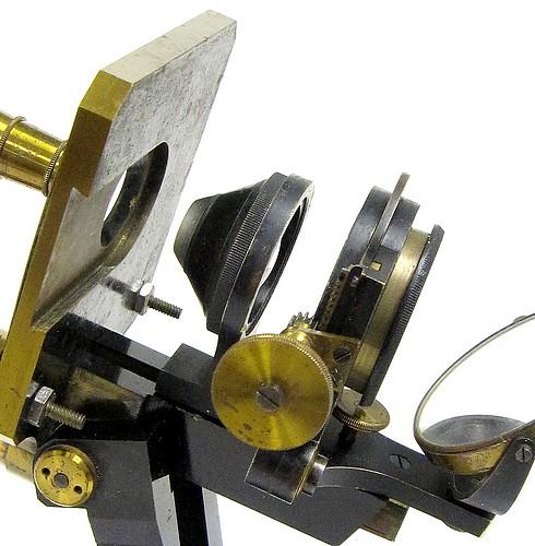 c. zeiss, jena 4969. microscope model va, c. 1880. abbe condenser