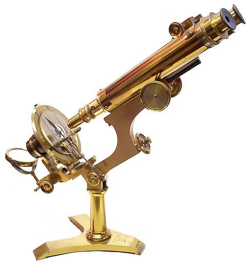 J. Zentmayer, Philadelphia, #3773, United States Army Hospital Binocular Microscope