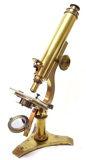J. Zentmayer, Philadelphia No. 975. United States Army Hospital Monocular Microscope, before 1876