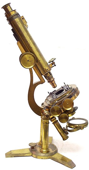 Zentmayer's Grand American Microscope serial No. 330,  c. 1860