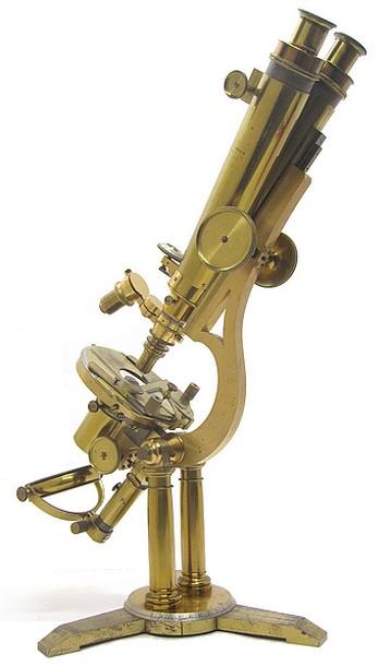 Zentmayer Grand American microscope binocular