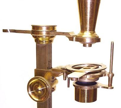 Bate, London. Jones Improved type microscope, c. 1820