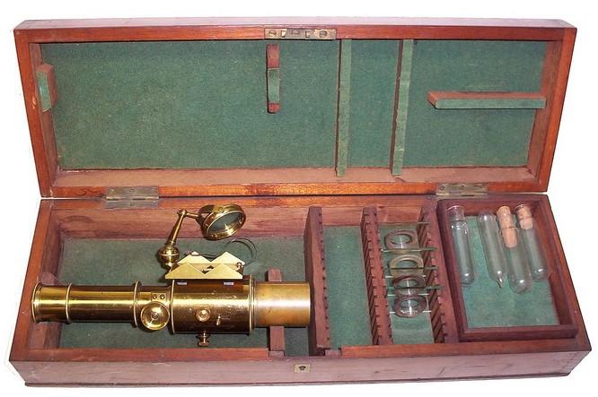 Microspectroscope: Sorby-Browning Microspectroscope