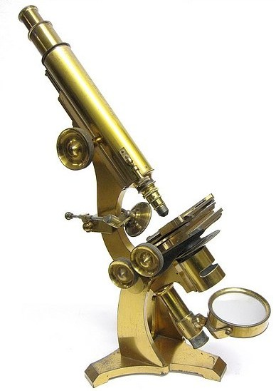 T. Cooke, York. Monocular microscope c. 1854