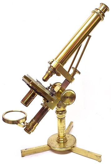 The Microscope of Robley Dunglison, MD (1798-1869). c. 1845
