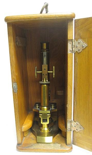 J  Grunow, New York No  984  Continental Student microscope
