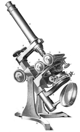 Large Ross Microscope 1855
