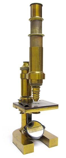 E. Leitz Wetzlar, No. 2860. Middle Model Microscope IIIa, c. 1878