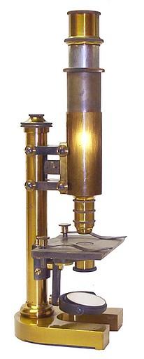 Monocular microscope: E. Leitz Wetzlar, No. 6260 Stativ IV  c. 1883