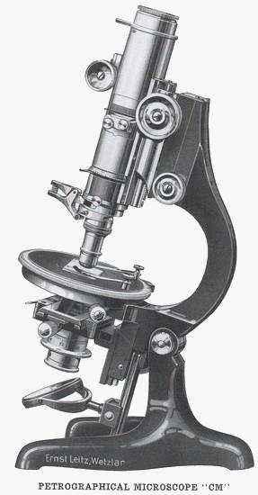 Ernst Leitz Wetzlar  CM model microscope