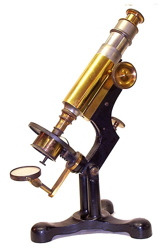 McIntosh Battery & Optical Co., Chicago # 397. The New Clinical Microscope No. 2